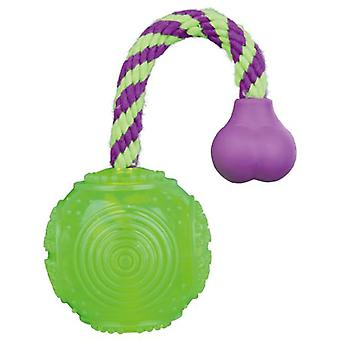 Trixie Ball-Rope, Thermoplastic Rubber. (Tpr) (Dogs , Toys & Sport , Balls)