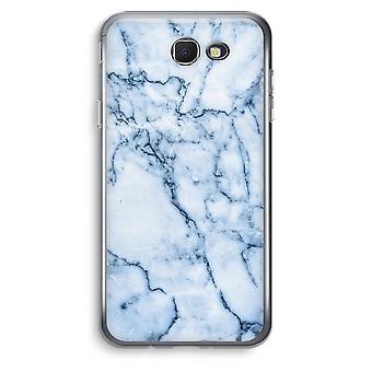 Samsung Galaxy J5 Prime (2017) Transparent Case (Soft) - Blue marble