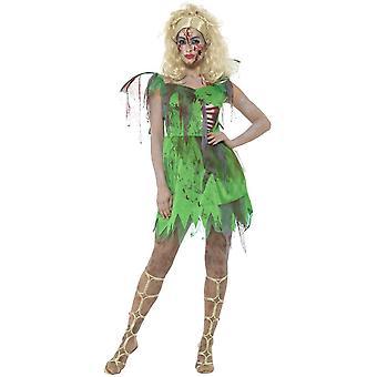 Women costumes  Halloween zombie tinkerbell costume