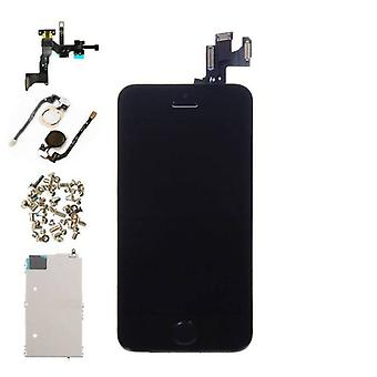 Stuff Certified ® iPhone 5S Front Mounted Display (LCD + Touch Screen + Parts) AAA + Quality - Black
