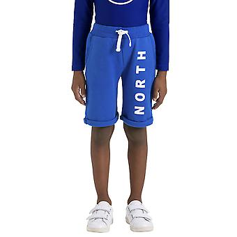 Northshore children Lowell printed fleece of sweat shorts with logo