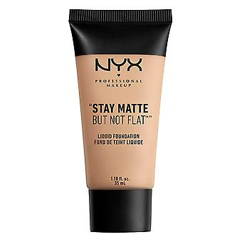 NYX Prof. maquillage Note mat plat Fondation réchaud