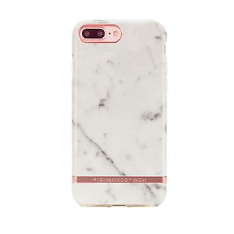 Richmond & Finch covers for IPhone 6/7/8 Plus-White Marble-Rose