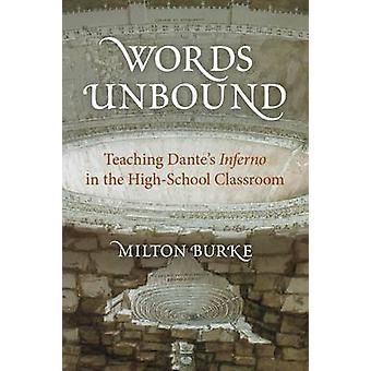 Mots non consolidé - enseignement Dante Inferno dans la salle de classe de lycée