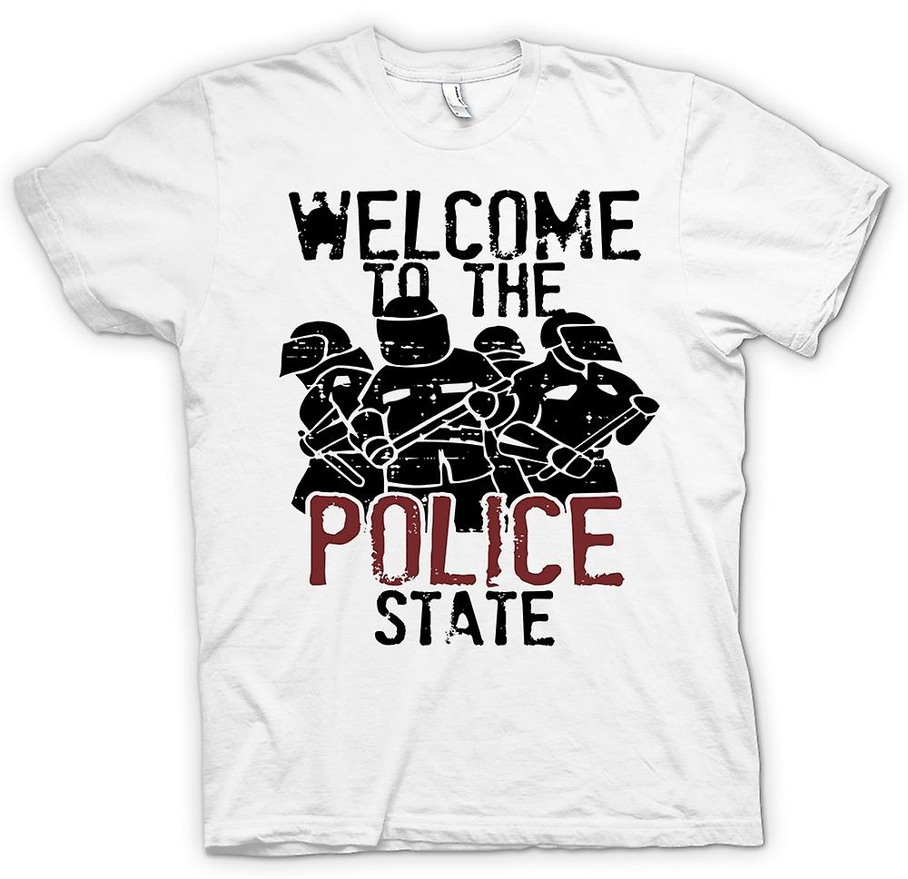 Mens T-shirt - Welcome To The Police State