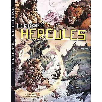 12 prac Herkulesa: Graphic opowieść (starożytne mity)