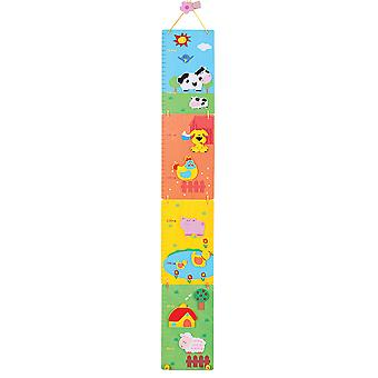 Bigjigs Toys Wooden Nursery Cot Mobile (Farm) Bedroom Baby Gift Accessories