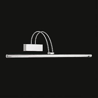 Ideel Lux - bue nikkel store LED billede lys IDL007069