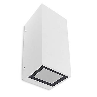 Afrodita GU10 bianco doppia parete esterna luce - Leds-C4 05-9919-14-37