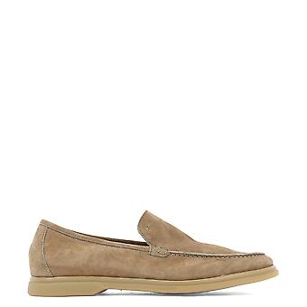 Arturo T Brown Suede Loafers
