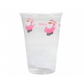 Plastic wegwerp drankjes/Cup/bierglas 500Ml 120/Pack - (XA3764)