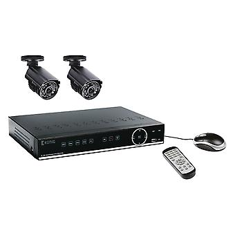 Inspelningsset for surveillance camera with a built-in 500 GB HDD