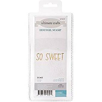 Artdeco Creations Hotfoil Stamp So Sweet (3 x 0.8in) (ULT158101)