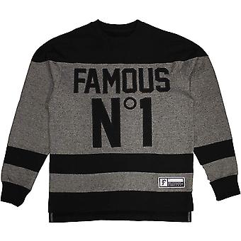 Famous Stars and Straps Hat Trick Sweatshirt Black