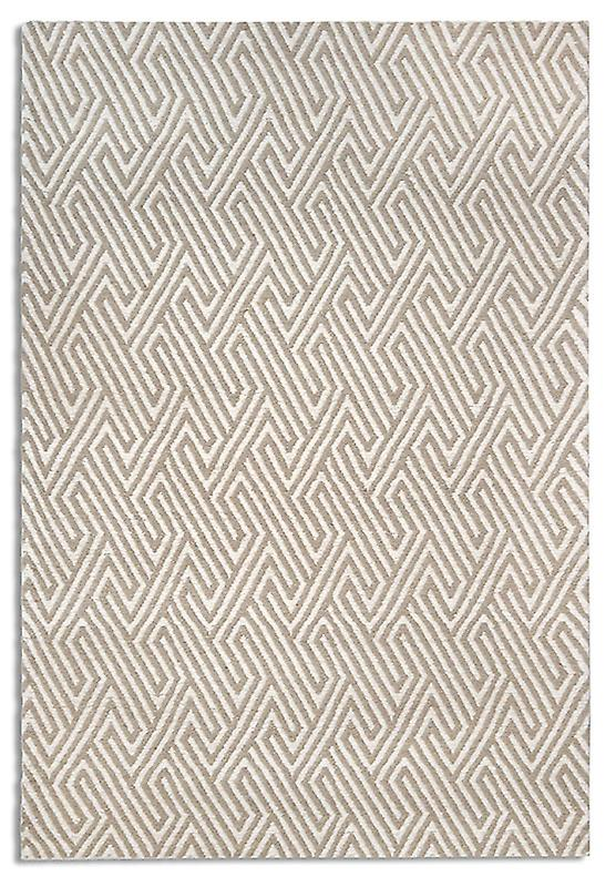 Rugs - Maisey In White & Beige