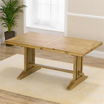 Mark Harris Cavanaugh Solid Oak All Side Extending Dining Table