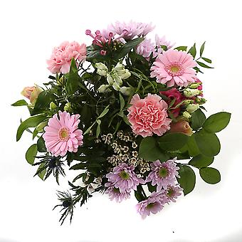 Botanicly - Bouquets | Bunch of Flowers Kim large, pink | Height: 45 cm