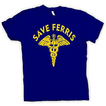 Kids T-shirt - Ferris Buellers Save - Cult Movie