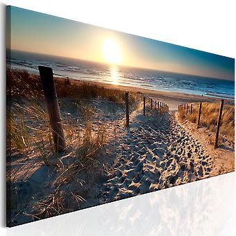 Kanfastryck-Sunset Path