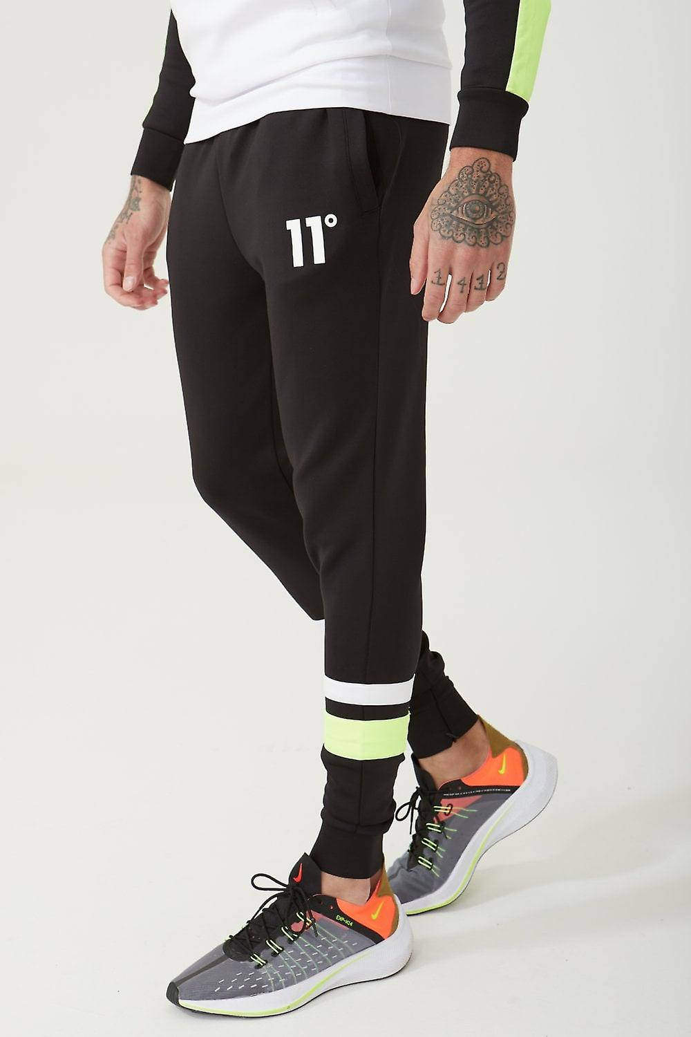 11 Degrees Neo Poly Joggers - noir