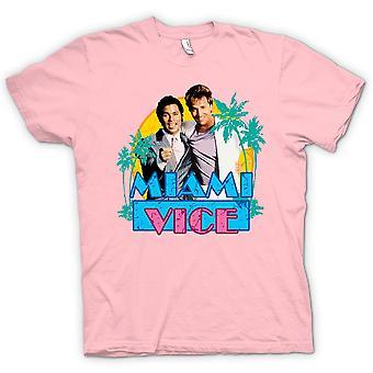 Mens T-shirt - Miami Vice - Crockett und Tubbs