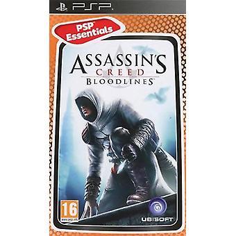 PSP Assassins Creed Bloodlines PSP Essentials Game