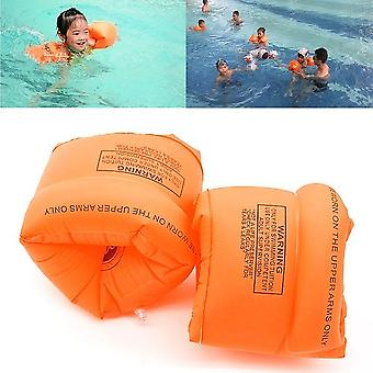 Inflatable Swim Rollup Armbands Floatation SleevesWater Wings Swimming Rings Floats Tube Armlets Size 0 15 - 30 Kg