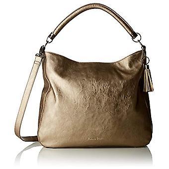 Fritzi aus Preussen HANNA Shoulder bag Donna Silver (Silver 168/Saddle)) 11.5x36x36 cm (B x H x T)