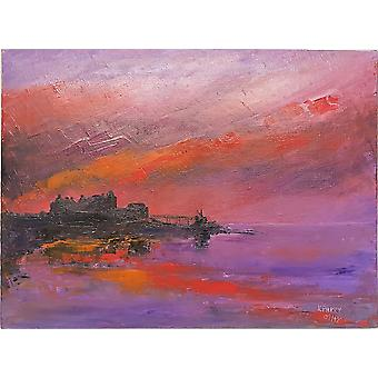 Keith Parry Blackness Castle Oil on Canvas