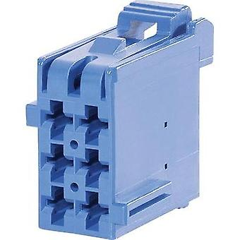 Socket enclosure - cable J-P-T Total number of pins 6 TE Connectivity 1-965640-5 Contact spacing: 5 mm 1 pc(s)