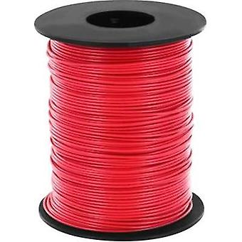 Strand 1 x 0.14 mm² Red BELI-BECO L118/100 rot 100 m