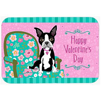 Heureux Valentin Boston Terrier Glass Cutting Board grand VHA3001LCB