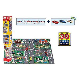 AVC Skin Calm City With 3 Car And Signs In Box