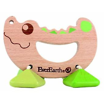 EverEarth Crocodile rattle (Toys , Preschool , Babies , Early Childhood Toys)