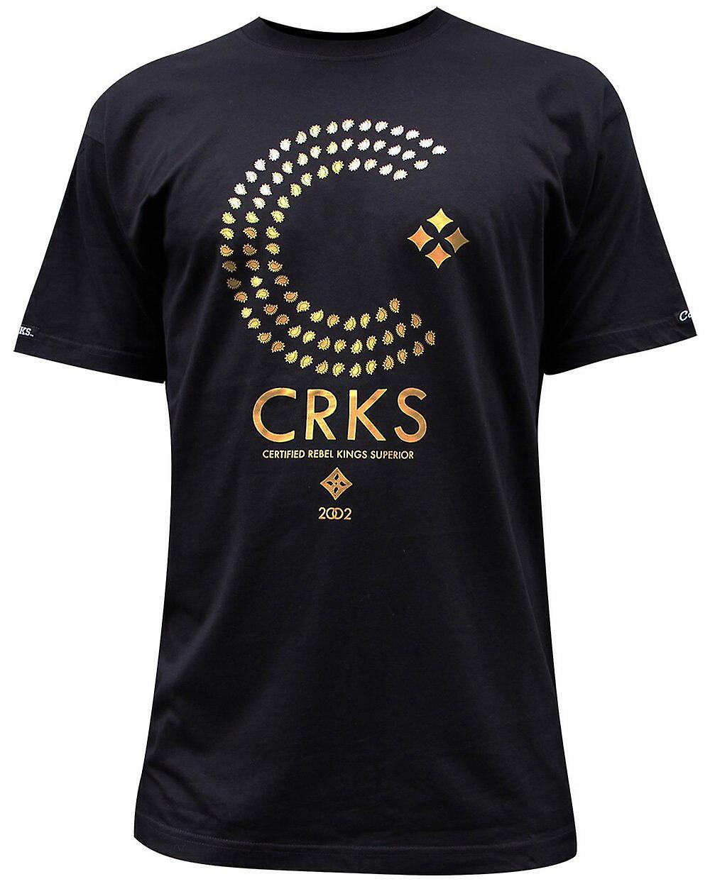 Skurkar & slott Thomas Crown T-Shirt svart