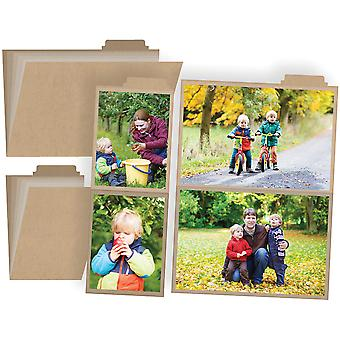 I Am Photo Booklets W/4 Pocket Pages 2/Pkg-4