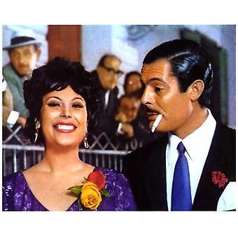 الطلاق-ملصق الفيلم النمط الإيطالي (11 × 17)