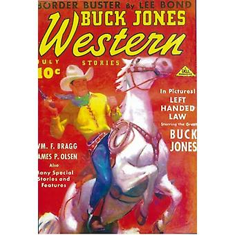Buck Jones Western (Pulp) Movie Poster (11 x 17)