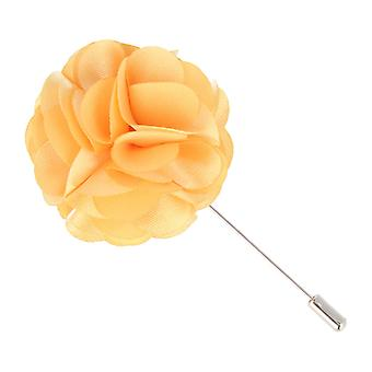Mr. icone revers-corsage flower PIN pin PIN pin of salmon Orange