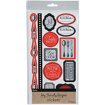 My Family Recipes Stickers -Cutlery 1219530