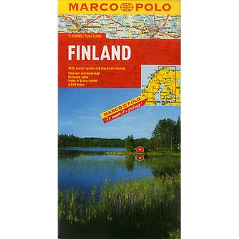 Finland Map by Marco Polo