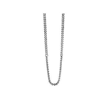 Guess men's chain necklace stainless steel Silver UMN21530