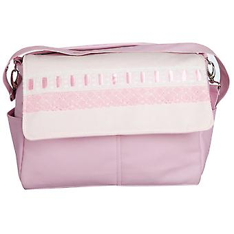 Babyline Pink Ribbon Leather Bag (Babies and Children , Walk , Diaper Bags)