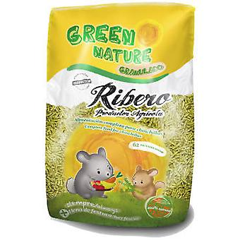 Ribero Green Nature Grainy - Chinchilla (Small pets , Dry Food and Mixtures)