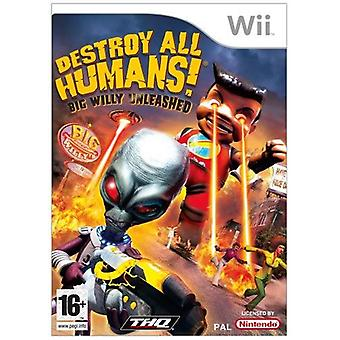 Destroy All Humans ! Big Willy Unleashed jeu Nintendo Wii