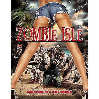 Zombie Isle [DVD] USA importerer