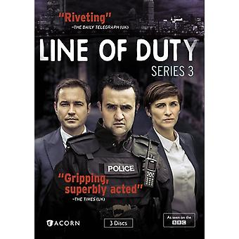 Line of Duty: Series 3 [DVD] USA import