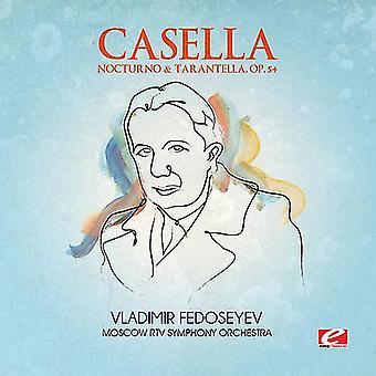 A. Casella - Casella: Nocturno & Tarantella, Op. 54 [CD] USA import