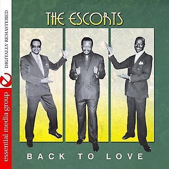 Escorts - terug naar liefde [CD] USA import