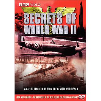 Secrets of WWII [DVD] USA import